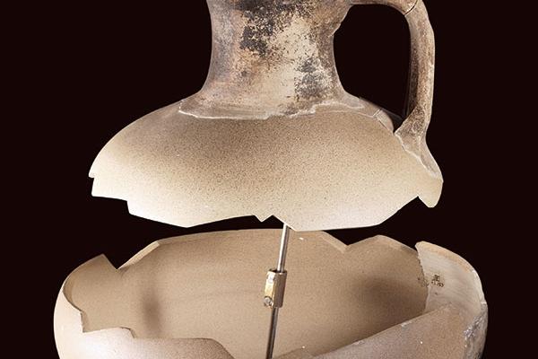 Pichet en céramique commune