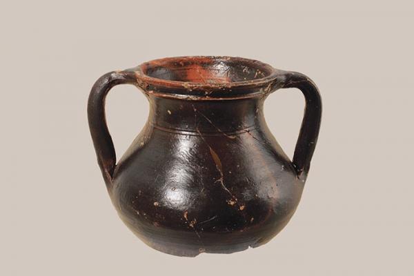 Vasito de cerámica de paredes finas