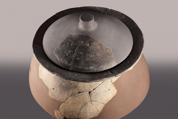 Vasija de cerámica común