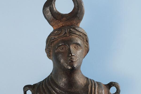 Bronces de Higuer Isis