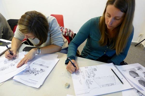 Atelier de dessin archéologique